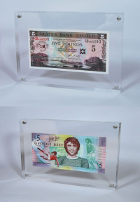 Limited Edition Legal Tender George Best Commemorative £5 Bank Note