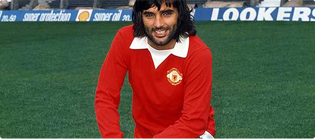 super popular 2e582 77c2a George Best Fact File