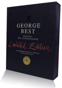 George Best Hand Signed Limited Edition Autobiography - Blessed