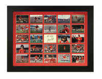 George Best Signed 24 Photo Tribute Montage
