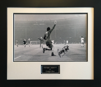 George Best Signed 1968 European Cup Final Photo